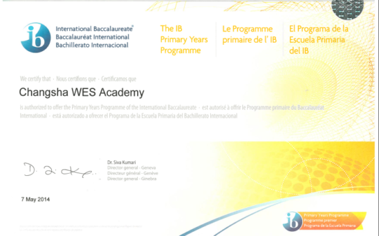 PYP Accreditation